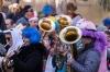 Bühnenfasching in St Gilgen am 25.02.2017, veranstaltet von der Faschingsgilde Schwarze Hand; Bürgermusik St Gilgen   Foto und Copyright: Moser Albert, Fotograf, 5201 Seekirchen, Weinbergstiege 1, Tel.: 0043-676-7550526 mailto:albert.moser@sbg.at  www.moser.zenfolio.com