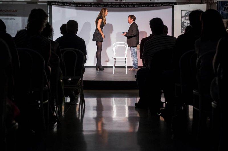 Nina Hartmann und Oliver Lendl mit der Dating-App Komödie