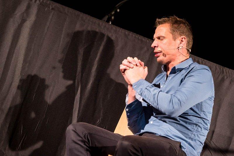 Klaus Eckel mit dem Programm