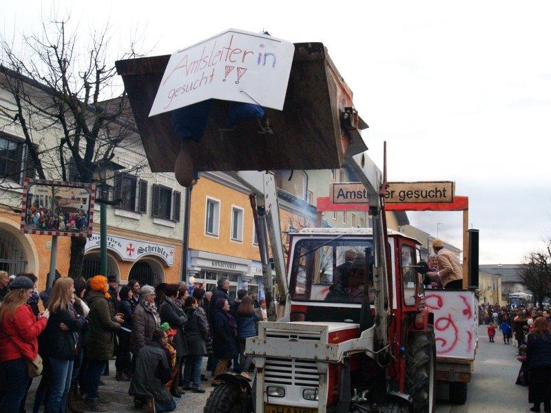 Faschingsumzug 2016 in Neumarkt