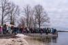 7. Silvesterschwimmen im Strandbad in Seeham am 31.12.2017; 41 Teilnehmer, 7 Damen und 31 Männer und 3 Kinder   Foto und Copyright: Moser Albert, Fotograf, 5201 Seekirchen, Weinbergstiege 1, Tel.: 0043-676-7550526 mailto:albert.moser@sbg.at  www.moser.zenfolio.com