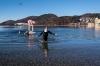 Silvesterschwimmen im Fuschlseebad am 31.12.2016   Foto und Copyright: Moser Albert, Fotograf, 5201 Seekirchen, Weinbergstiege 1, Tel.: 0043-676-7550526 mailto:albert.moser@sbg.at  www.moser.zenfolio.com