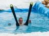 Summer Snow Waterslide in Faistenau am 21.06.2013 mit echtem Schnee, veranstaltet von der freiwilligen Feuerwehr Faistenau, Harald Gumpinger   Foto und Copyright: Moser Albert, Fotograf und Pressefotograf, 5201 Seekirchen, Weinbergstiege 1, Tel.: 0676-7550526 mailto:albert.moser@sbg.at  www.moser.zenfolio.com