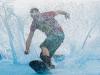 Summer Snow Waterslide in Faistenau am 21.06.2013 mit echtem Schnee, veranstaltet von der freiwilligen Feuerwehr Faistenau   Foto und Copyright: Moser Albert, Fotograf und Pressefotograf, 5201 Seekirchen, Weinbergstiege 1, Tel.: 0676-7550526 mailto:albert.moser@sbg.at  www.moser.zenfolio.com