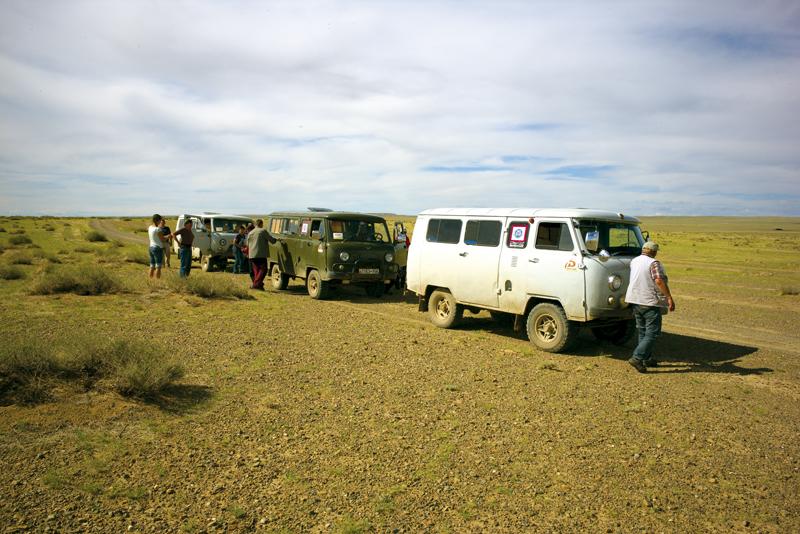 Unterwegs in der Mongolei