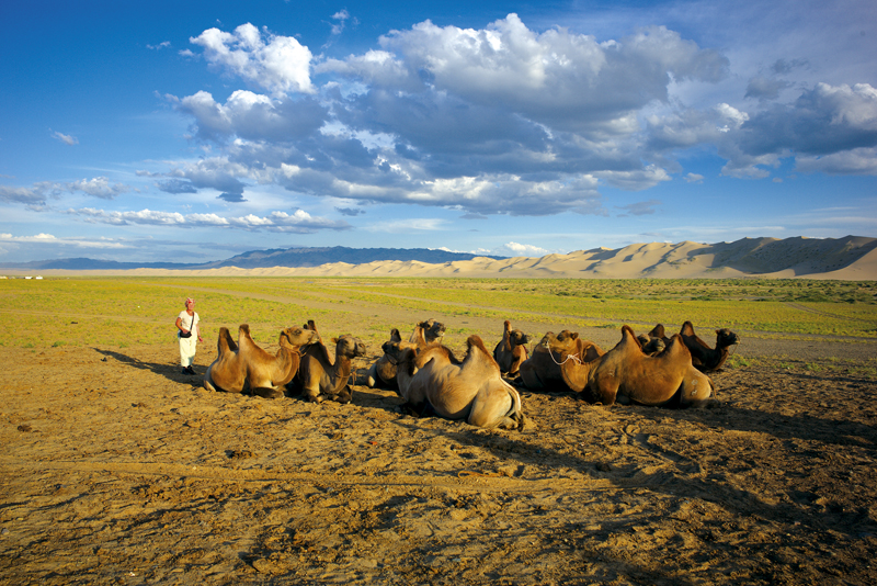 Mongolei - zu Hause bei den Nomaden in der Steppe. Wer mehr über Peter Maierbrugger wissen möchte: www.peter-maierbrugger.at
